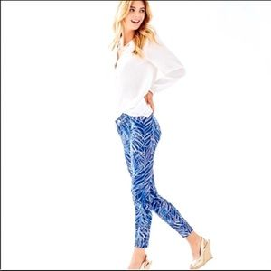 NWT Lilly Pulitzer South Ocean Skinny Crop Pant 4